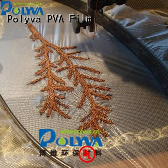 cold cleaner garment water soluble film manufacturers POLYVA manufacture