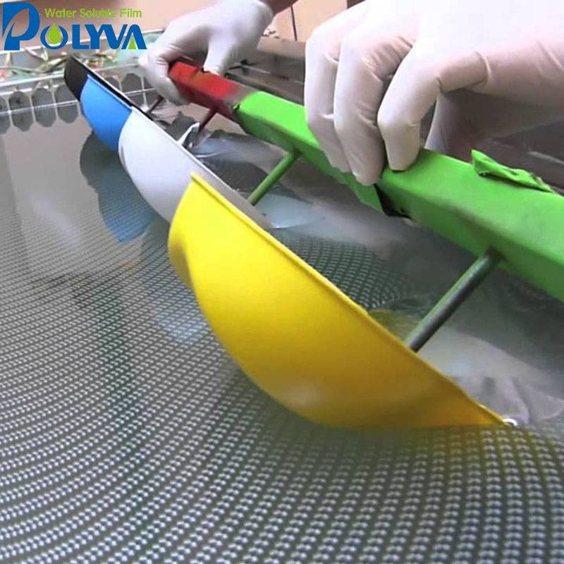 POLYVA Water transfer printing water soluble PVA film Other PVA Film applications image14