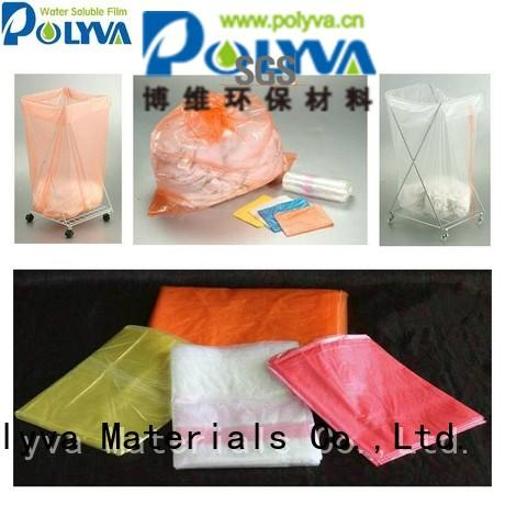 Quality POLYVA Brand water soluble film manufacturers cleaner film