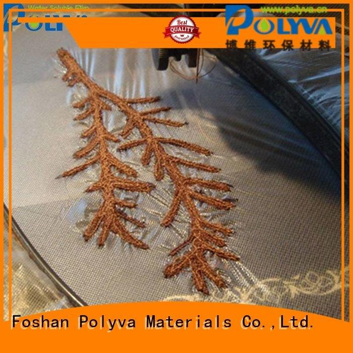 Hot water soluble film manufacturers bag soluble laundry POLYVA Brand