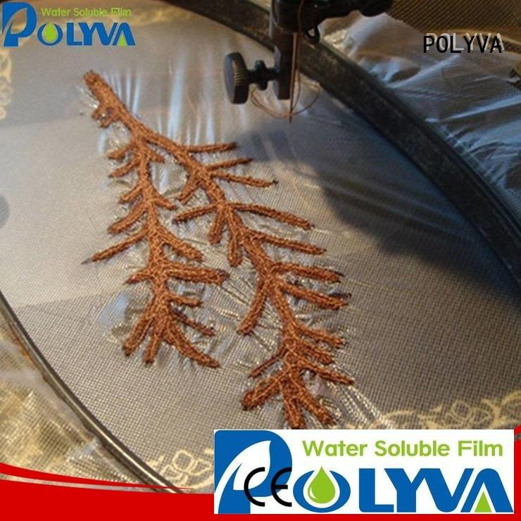 Quality POLYVA Brand water soluble film manufacturers