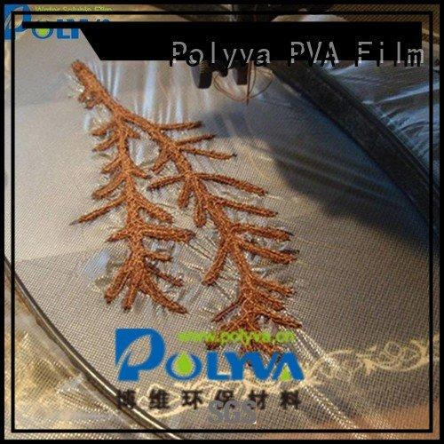 cold pva water soluble film manufacturers POLYVA