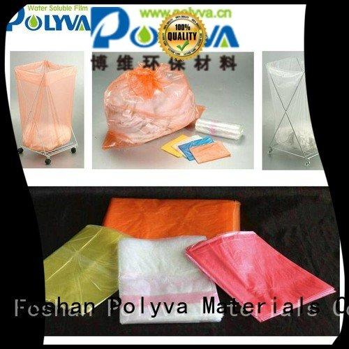 POLYVA water soluble film manufacturers cleaner printing medical transfer