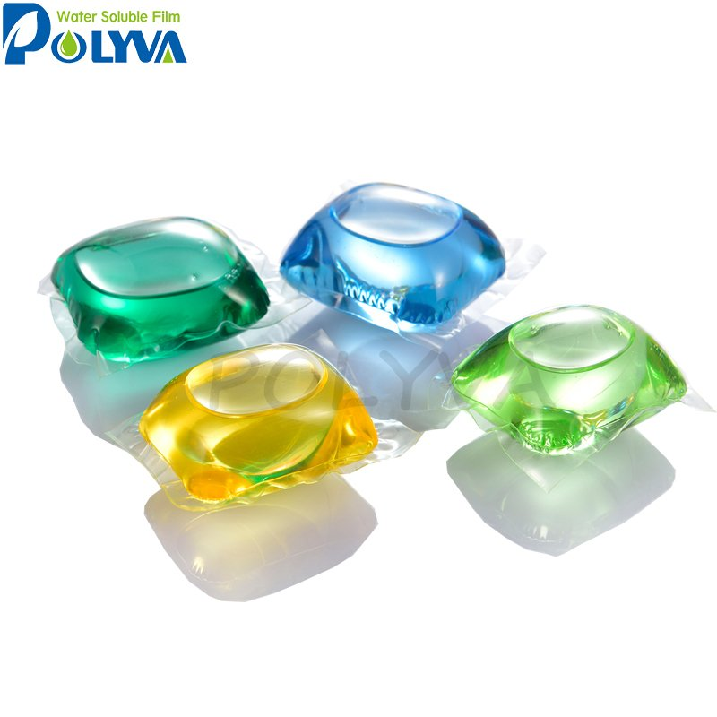 POLYVA Laundry detergent pods water soluble pva film Cosmetic PVA Water Soluble Film image10