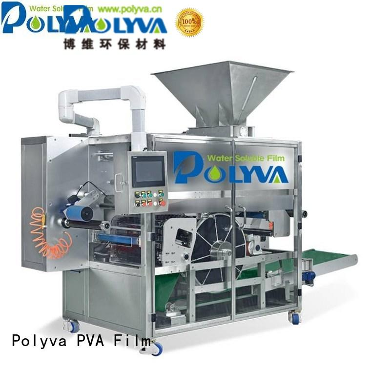 automatic packaging laundry water soluble film packaging nzc POLYVA Brand