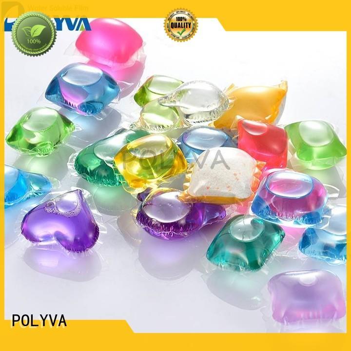 POLYVA dissolvable plastic bags wholesale for makeup