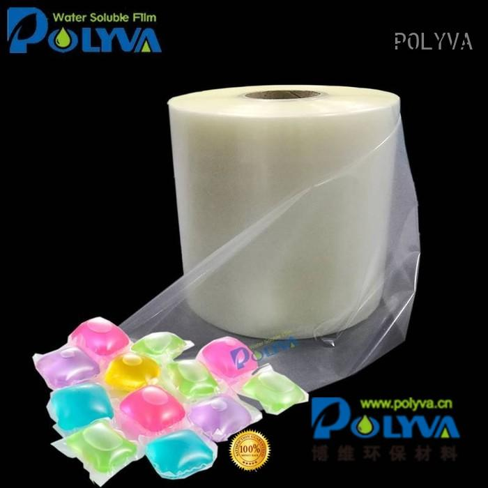 film cold water soluble film suppliers POLYVA manufacture