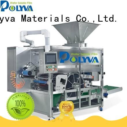 POLYVA water soluble film packaging supplier for oil chemicals agent