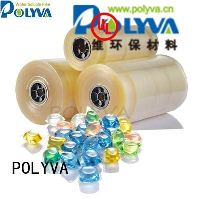 Hot laundry water soluble film suppliers film POLYVA Brand
