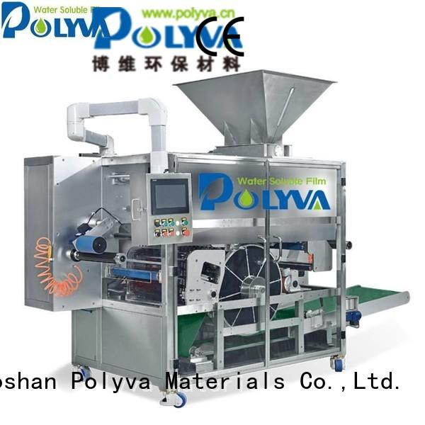 packaging Custom machine pda water soluble film packaging POLYVA nzc