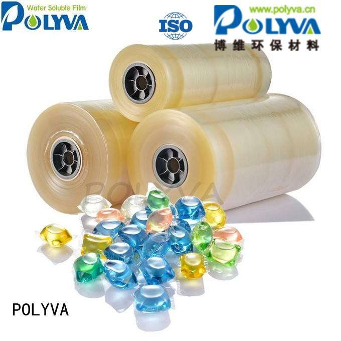 water soluble film suppliers oem soluble POLYVA Brand water soluble film
