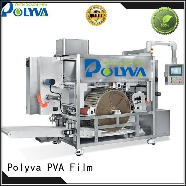 POLYVA water soluble film packaging wholesale for powder pods