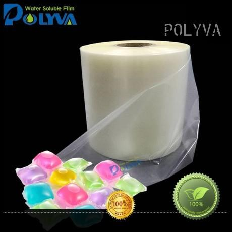 POLYVA soft water soluble bags factory direct supply for makeup