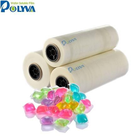 Прачечная моющие средства с холодной водной растворимой PVA пленка