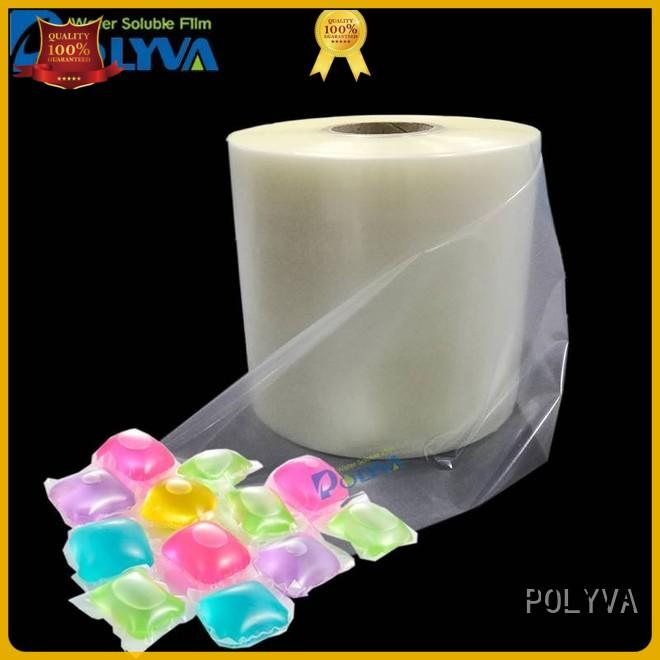 POLYVA stretch water soluble film wholesale for makeup