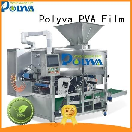 high capacity water soluble packaging factory price for powder pods POLYVA