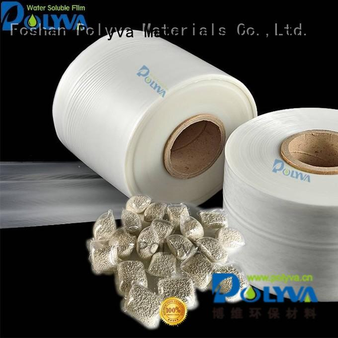 water soluble bags for ashes pva dissolvable plastic POLYVA Brand