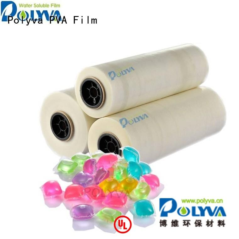 oem pods water soluble film film POLYVA company