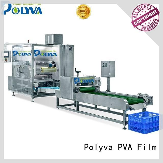 cost-effective water soluble film packaging personalized for liquid pods