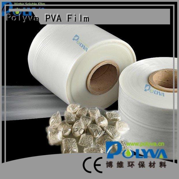 individually polyvinyl POLYVA dissolvable plastic