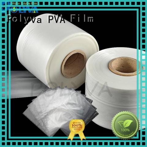 POLYVA PVA water soluble plastic bags wholesale for solid chemicals