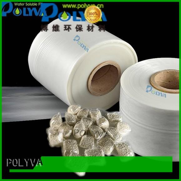 dissolvable packaging for granules POLYVA