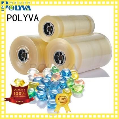 POLYVA water soluble bags factory direct supply for makeup