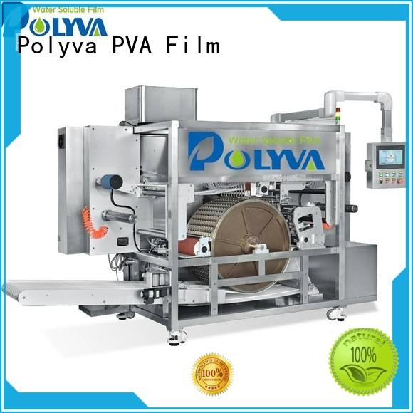 POLYVA rotary drum-type water soluble film packaging factory price for liquid pods