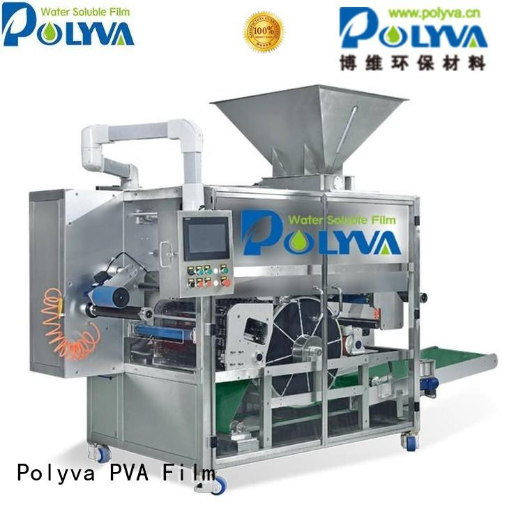 nzd automatic water soluble film packaging packaging speed POLYVA company