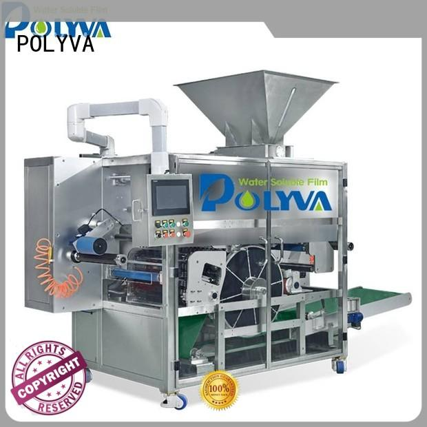 POLYVA water soluble packaging manufacturer for oil chemicals agent