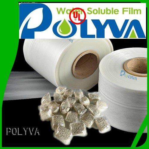 OEM water soluble bags for ashes agrochemicals polyvinyl pesticide dissolvable plastic