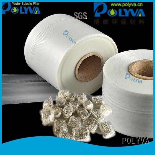 POLYVA water soluble bags for ashes polyvinyl bag alcohol nontoxic