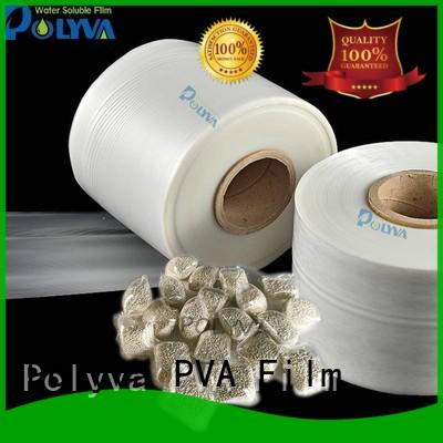 POLYVA water soluble plastic bags factory price for granules