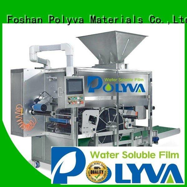 laundry pod machine machine speed packaging POLYVA