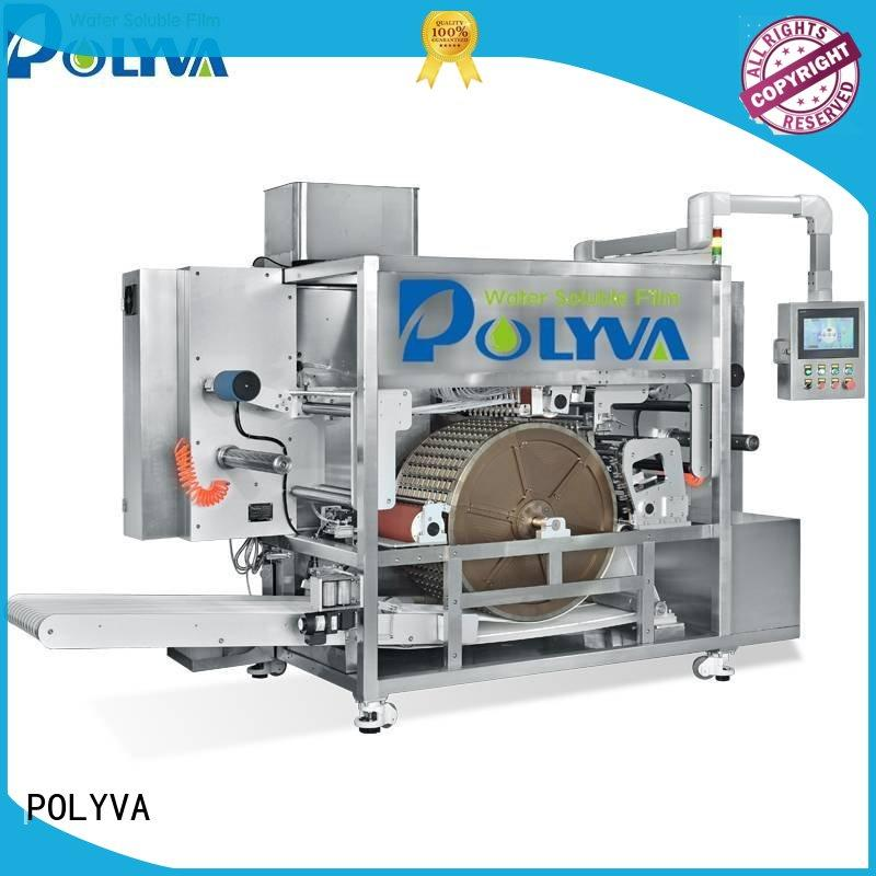 water soluble packaging for powder pods POLYVA