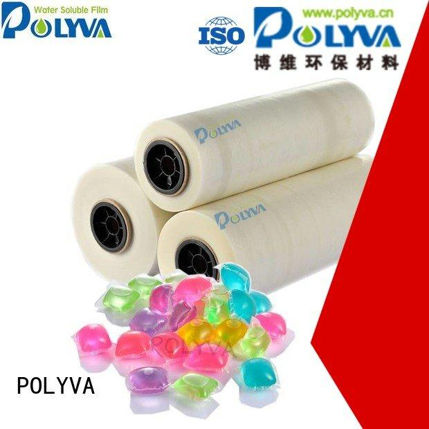 soluble film pva cold POLYVA water soluble film suppliers