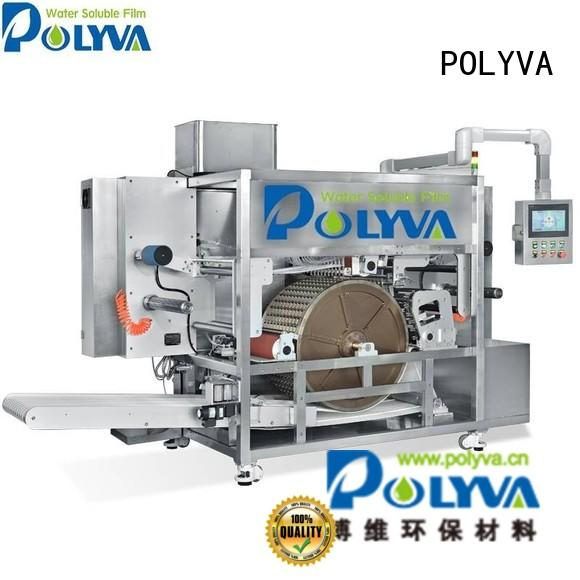 Wholesale automatic powder water soluble film packaging POLYVA Brand
