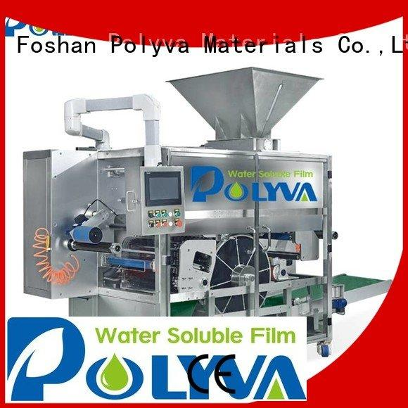 POLYVA Brand laundry packaging water soluble film packaging nzd powder