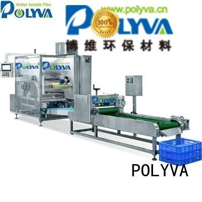 POLYVA Brand speed laundry pod machine machine supplier
