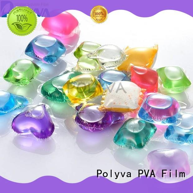 POLYVA dissolvable laundry bags factory direct supply for makeup