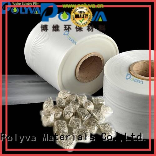 POLYVA individually packaged pva water soluble film factory for solid chemicals