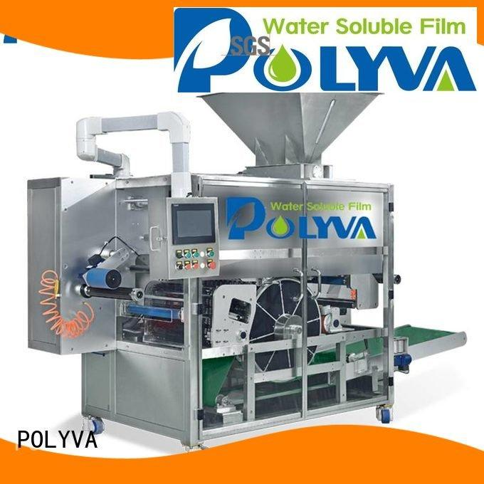 Wholesale laundry water soluble film packaging POLYVA Brand