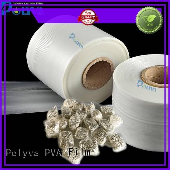 POLYVA environmentally friendly dissolvable bags factory for granules