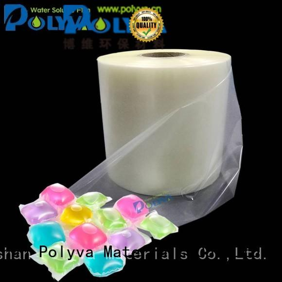 liquidpowder laundry POLYVA Brand water soluble film suppliers factory