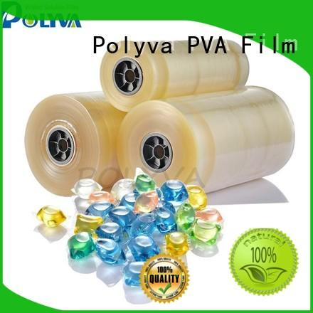 POLYVA dissolvable plastic bags series for makeup