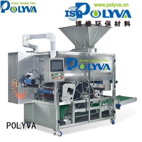 POLYVA Brand pods liquid packaging laundry pod machine