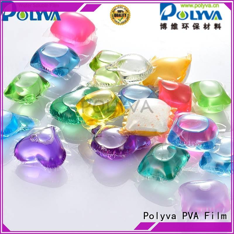 POLYVA soft dissolvable laundry bags factory direct supply for lipsticks