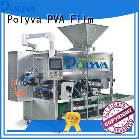 POLYVA automatic water soluble film packaging factory price for liquid pods