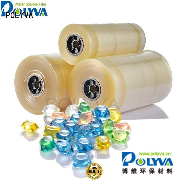 water soluble film suppliers packaging oem pva POLYVA Brand
