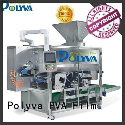 POLYVA rotary drum-type water soluble packaging design for oil chemicals agent